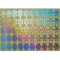 Buy cheap Rainbow Color Security Hologram Sticker , Custom Vinyl Decals Stickers from wholesalers