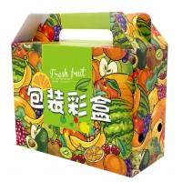 Wholesale Flat Packing Color Printed Corrugated Paper Box For Fruit Packaging from china suppliers