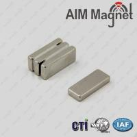 Buy cheap 1/2  x 3/16 x 1/4  rare earth neodymium magnets sale,rare earth magnet for sale from wholesalers