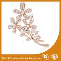 Wholesale Handmade Safety Pin Rhinestone Brooches For A Wedding Flower Brooches from china suppliers