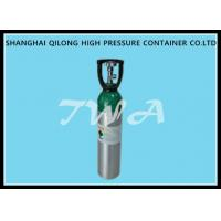Alloy Aluminium Cylinder High Pressure Aluminum Gas Cylinder 20L Safety Gas Cylinder for Medical use Manufactures