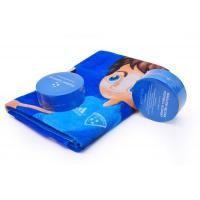 Buy cheap Circle Compressed Beach Towels For Football Academy Club Promotion Gift from wholesalers