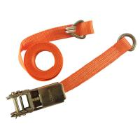 Buy cheap CE Strap Ratchet Straps 1 Inch 1000KGS Lashing Strap Ratchet Tie-Down Straps with D-ring from wholesalers