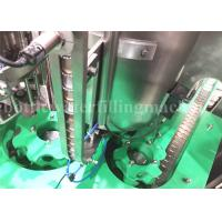 Buy cheap Fully Automatic Glass Bottle Filling Machine , Carbonated Drink Production Line from wholesalers