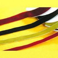 Velvet Ribbons with Woven Edges Manufactures