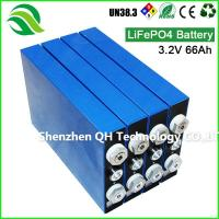 Buy cheap High Energy Rechargeable Lithium HEV/RV Home Portable Generator 3.2V 66Ah LiFePO4 Batteries Cell from wholesalers