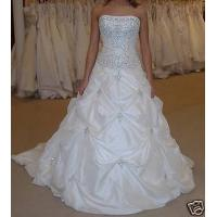 Custom Made Designer New Stock White/Ivory Wedding Dress Bridal Gown Manufactures