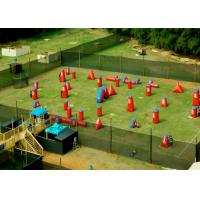 Buy cheap Speedball Inflatable Psp Paintball Bunkers / Inflatable Games For Kids from wholesalers