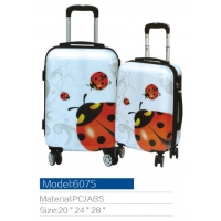 Wholesale 360 Wheels Beetle Print ODM Hard Shell Travel Luggage from china suppliers