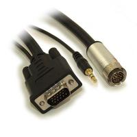 Quality Structure Cable DVI-D with 3.5mm Audio Locking Connector, EACH for sale