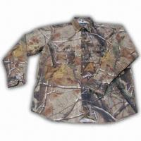 Buy cheap Hunting Shirt with Realtree Camo and Cotton Fabric Shell from wholesalers