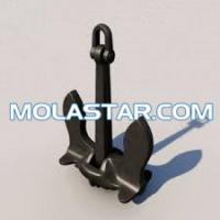 Buy cheap Molastar New Design Baldt Stockless Steel Boat Anchors For Sale Marine Ship Baldt Anchor Stockless Anchor For Marine from wholesalers
