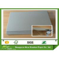 Buy cheap Stocklot Matte Paper 1.5mm Grey Sheet Cardboard Book Boards For Binding from wholesalers