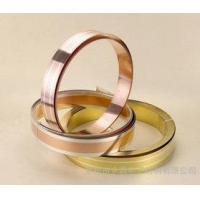 Buy cheap Red Copper Alloy Strip Simple Cladding Metal For Packaging Components from wholesalers