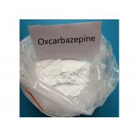 Buy cheap Oxcarbazepine 28721-07-5 Nervous System Drug Treat Epilepsy 99% Purity from wholesalers