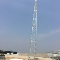Buy cheap Lightweight 160 Degree 2 Axial Telescopic Aerial Mast from wholesalers