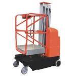 Buy cheap Single mast mobile aluminium work platform mast climbing work platform from wholesalers