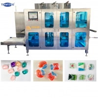 Buy cheap Automatic PVA Water Soluble Film Liquid Detergent Pod Making Machine from wholesalers