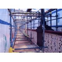 Buy cheap Rope Suspended Scaffold Platform 800kg Load/7.5m Length from wholesalers