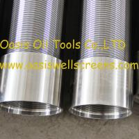 Oasis Oil Tools Supplies Continuous slot vee shaped wire water well screens