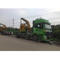 Buy cheap 3 Axle Truck Mounted Crane Container For Transportation Self Loading from wholesalers