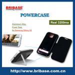 Buy cheap 3200mAh Aluminium Alloy Flip case For samsung galaxy S4 Battery Case from wholesalers