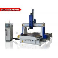 China Wooden Cabinet Making 4 Axis CNC Router Machine High Working Accuracy on sale