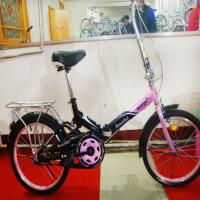 Wholesale lightweight folding bike for girls or boys with low price from china suppliers