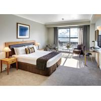 Buy cheap 5 Star Commercial Hotel Furniture / White Bedroom Furniture Sets from wholesalers