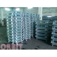 Buy cheap Stacking Collapsible Steel Wire Mesh Pallet Cage For Warehouse Storage from wholesalers