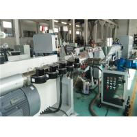 Buy cheap Pp / PE Pipe Extrusion Line High Automation Level 20 - 630mm Tube Diameter from wholesalers