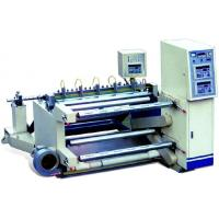High Precision Slitting and rewinding Machine for CPE / PVC cutting - rolling Manufactures