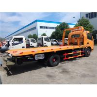 Buy cheap Right / Left Hand Drive 3 Ton Wrecker Tow Truck Euro 3 Manual Transmission Type from wholesalers