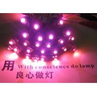 Buy cheap DC5V 12mm pink LED Pixel module IP68 waterproof 50pcs a string perforator alphabet letter for sign from wholesalers