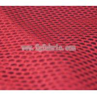 Buy cheap red polyester fabric net knit fabric|75D DTY delicate art design mesh MF-059 from wholesalers