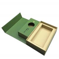 Wholesale Green Custom Printed Tea Box Book Shape Design Biodegradable Feature from china suppliers