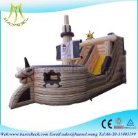 Buy cheap Hansel Beautiful pirate ship Inflatable Bouncy Castle Bouncer for Sale from wholesalers