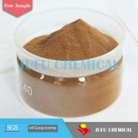 Buy cheap Sodium Lignosulfonate as water reducing admixture in concrete admixture, construction chemical from wholesalers