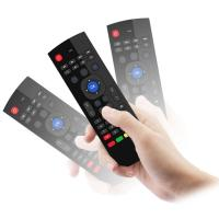 Wholesale OEM Android Air Mouse With Wireless Keyboard For Smart Tv Tv Box Mini Pc from china suppliers