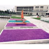 China Topiary 35mm Colorful Artificial Grass / 4 Color Laying Fake Turf Envrionmentally on sale