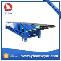 Buy cheap Mobile Telescopic Belt conveyor for 20 ft & 40 ft container product