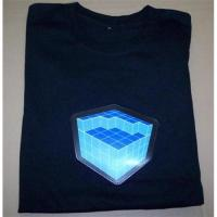 Buy cheap New design LED t-shirt from wholesalers