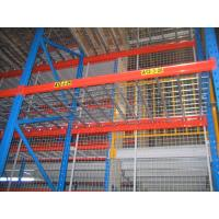 Buy cheap Corrosion Proof Galvanized Heavy Duty Pallet Racking 50.8mm Pitch from wholesalers