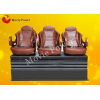 Buy cheap Push Back / Electric Shock 3 DOF Motion Theater Seats / Chair With Wood Frame from wholesalers