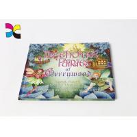 Educational Hardcover Book Printing Customized Full Color Printing Matt Lamination