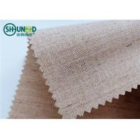 Wholesale Woven Hair Bow Canvas Cotton Polyester Interlining 260gsm Lining For Garment Uniform Suit from china suppliers