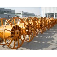 industrial metal drum for electric cables