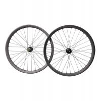 Buy cheap 29er carbon all mountain wheelset Hookless boost 40mm wide  novatec carbon wheels from wholesalers
