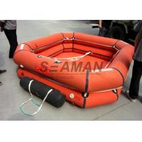 Buy cheap 4 / 6 / 8 Person Inflatable Life Raft Leisure Inflatable Raft For Emergency from wholesalers