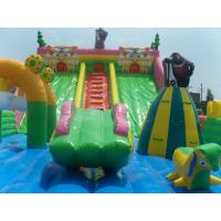 Buy cheap Large Air Jumper Inflatable Trampoline Inflatable Water Slide And Bounce Hous from wholesalers
